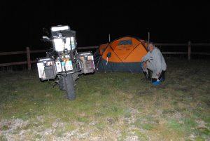 Campeggio al Colle delle Finestre