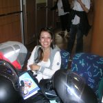 Francesca - sul traghetto verso Ceuta